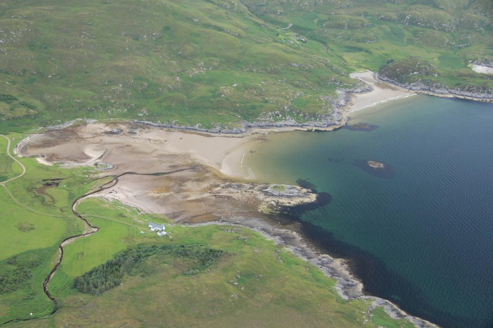 West coast Scotland from the air, copyright WA Coastal & Marine (J. Benjamin 2012)